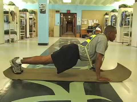 How to Do a Proper Army Push Up - YouTube