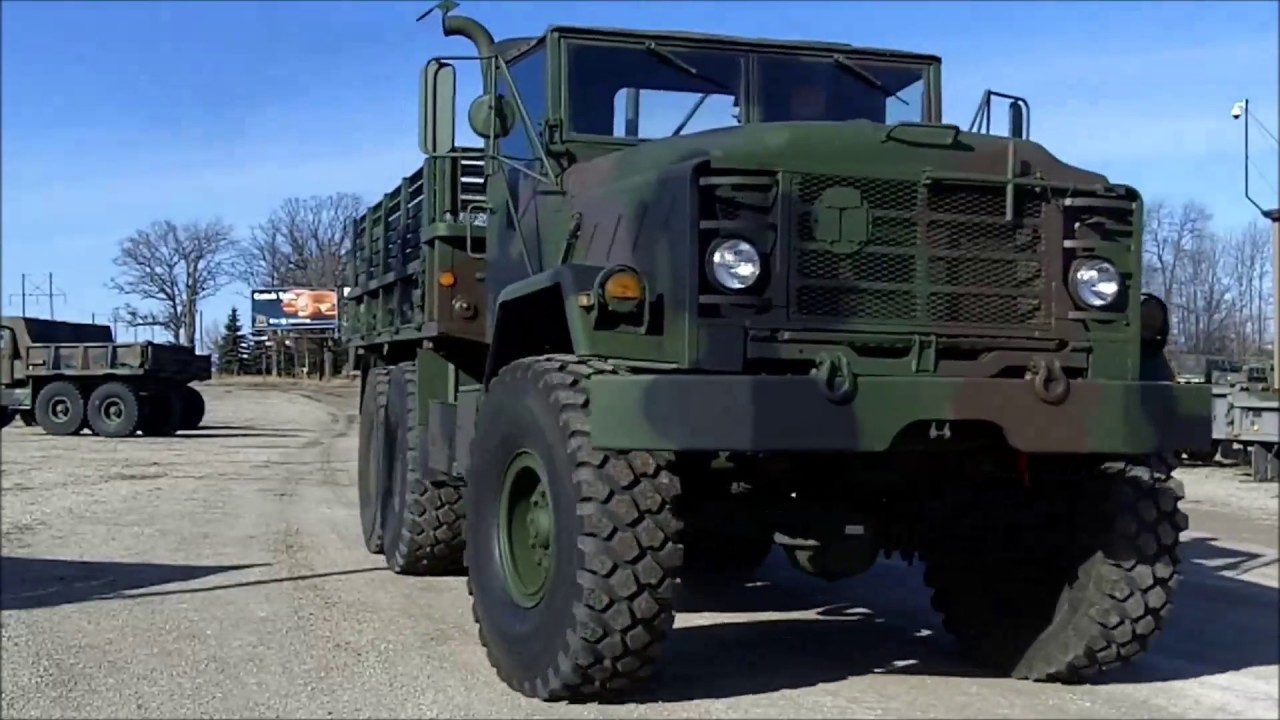 M923 6x6 Military 5 Ton Cargo Truck For Sale C 200 93 Youtube