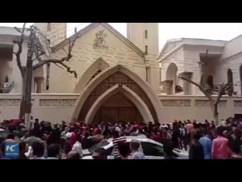 43 dead in Egypt church attacks, ISIS claims responsibility