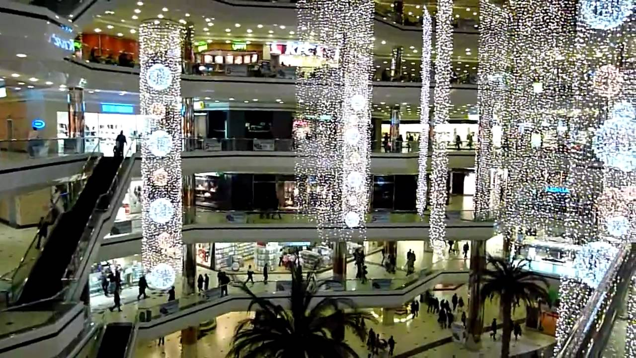 Istanbul. Turkey 2009/2010 - Cevahir Shopping Center - YouTube