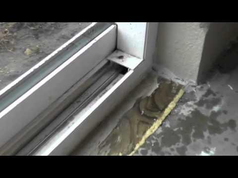 Leaking Sliding Door Youtube