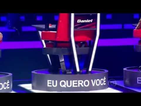 The Voice Brasil - Kim Lírio se apresenta na Audição