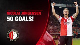 50 GOALS | NICOLAI JØRGENSEN