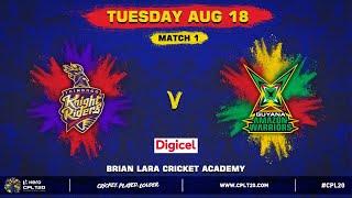MATCH 1 DIGICEL HIGHLIGHTS | TKR V GAW | #CPL20 #TKRvGAW #CricketPlayedLouder