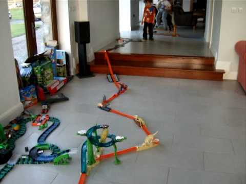hot wheels trick track circuit by osacr part ii youtube. Black Bedroom Furniture Sets. Home Design Ideas