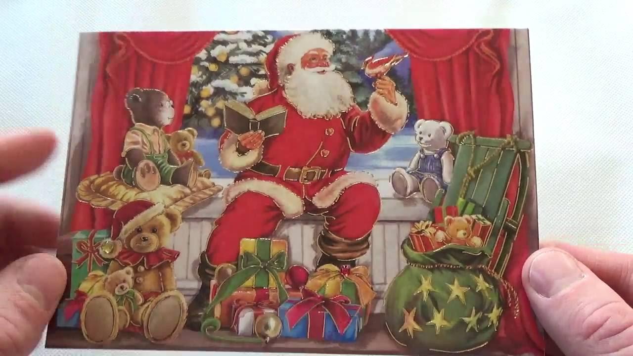 pop up 3d karten weihnachtskarten weihnachts postkarten weihnachtspostkarten postkarten. Black Bedroom Furniture Sets. Home Design Ideas