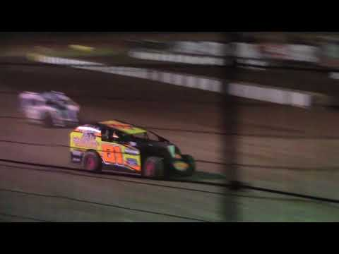 """Salina Speedway Auto House Towing Mod Lites """"A Feature"""" 7-27-18"""