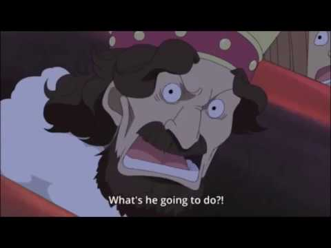 One Piece 396 -  Luffy Punchs Celestial Dragon In  Human Auctioning House English Sub