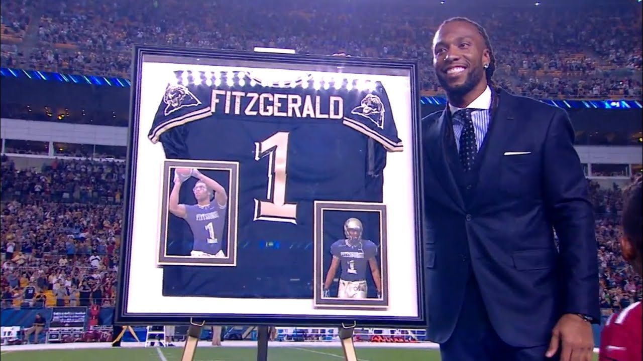 Larry Fitzgerald Jersey Retirement Ceremony