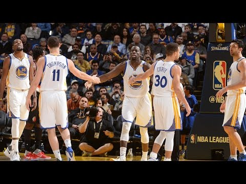 Golden State Warriors Best Play Highlights | 16/17 Season | First 41 Games