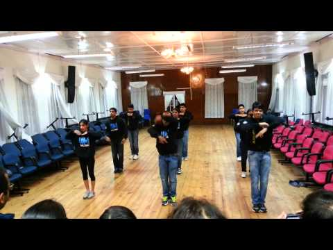 Hip-Hop by IIM shillong students(2013)