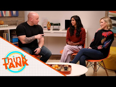 'Think TANK' Premiere: Tank Sinatra 'Memes' With Kristen Bell And Monica Padman