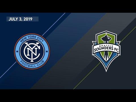 Highlights | New York City FC vs. Seattle Sounders FC