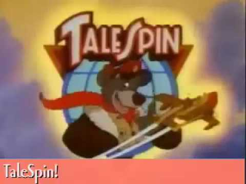 TaleSpin Karaoke Sing Along VIdeo