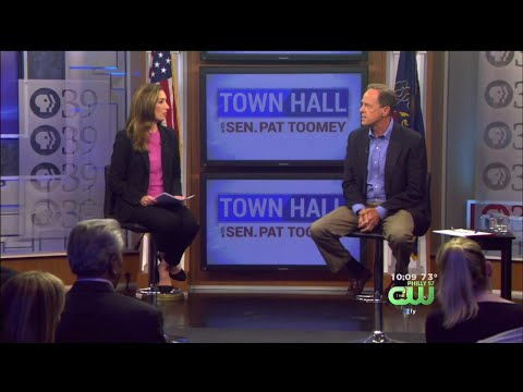 Sen. Pat Toomey Responds To Trump's Charlottesville Comments During Town Hall