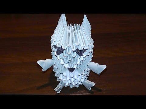 Модульное оригами панда схема фото 830