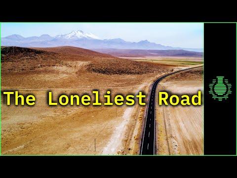 Driving a Tesla Across The Loneliest Road in America