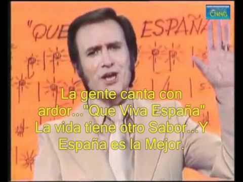 Que Viva España - Manolo Escobar (lyrics)