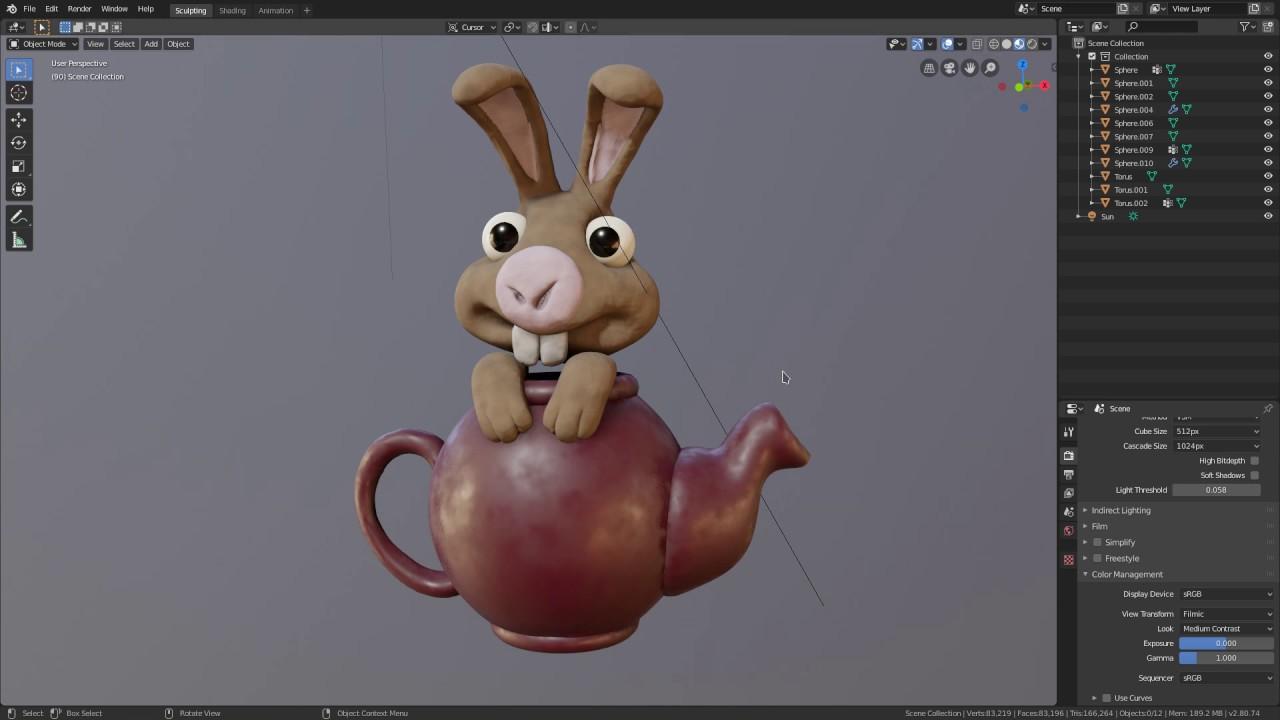 ArtStation - Pablo Dobarro - New Blender Sculpt Mode