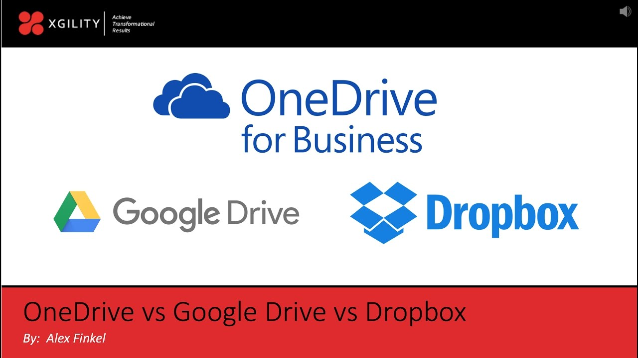 Dropbox for Business vs. OneDrive for Business