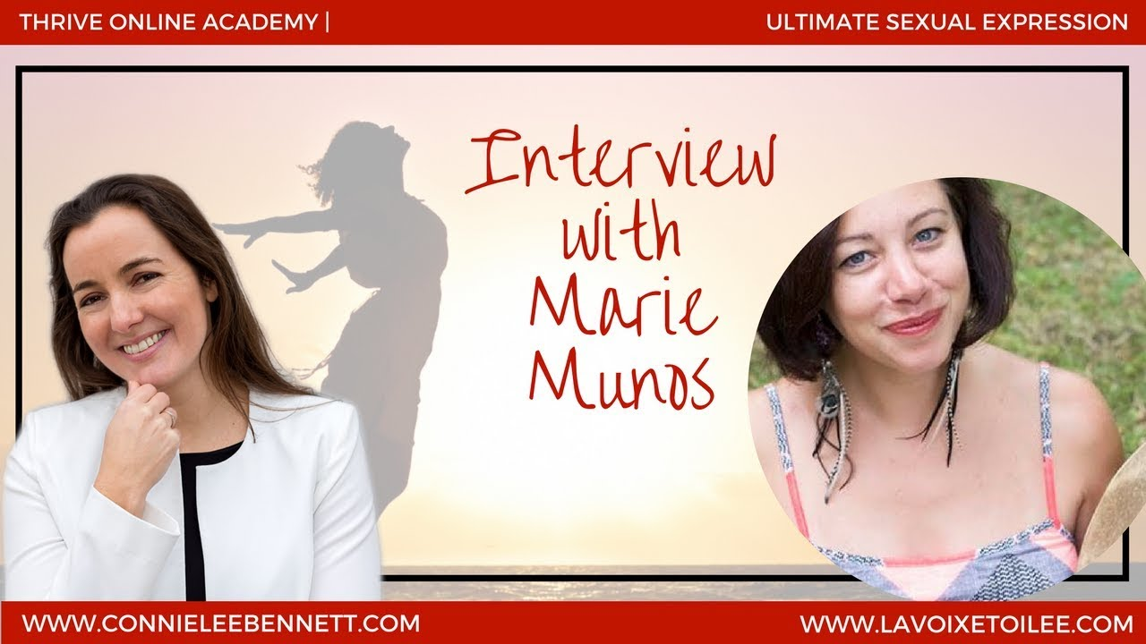 [LIVE INTERVIEW] How to Live and Experience Your Ultimate Sexual Expression  with Marie Munos