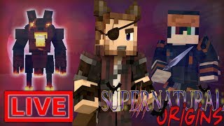 Minecraft Supernatural Origins #32.5 (Live Modded Survival)
