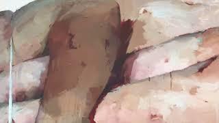 Women, paint and Flesh