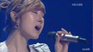[Live HD] 110527 - Cha Soo Kyung - Can't forgive (Ost.Temptation of Wife) - YHY's Sketchbook