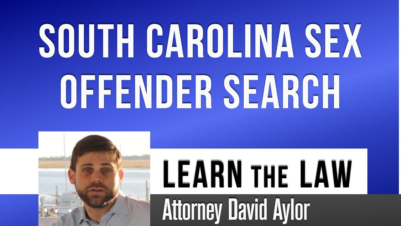 Sex offender registry charleston sc