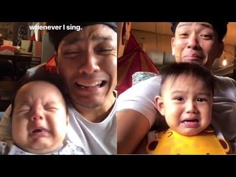 Panuorin Kung Pano Paiyakin Ni Papa Drew si Primo At Baby Leon!!😂