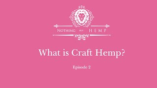 What is Craft Hemp?
