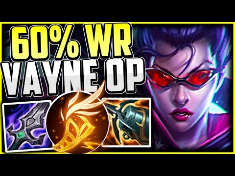 EASY 60% Win Rate VAYNE DOESN'T Need A Support! | Vayne Build/Runes Season 11 – LEAGUE OF LEGENDS