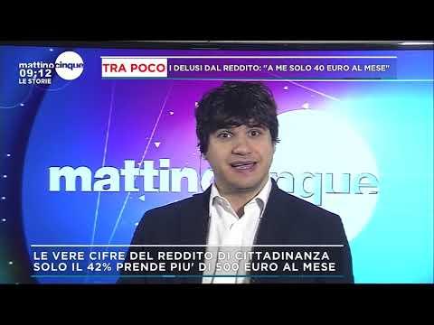 Alvise Maniero ospite a Mattino 5 23-04-2019