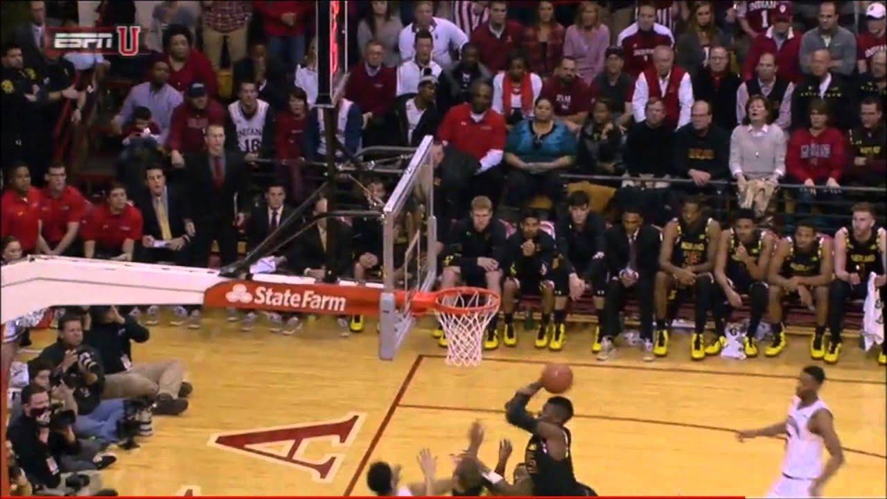 Maryland vs Indiana Undercut on Rebound?