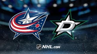 Columbus Blue Jackets vs Dallas Stars | Nov.12, 2018 | Game Highlights | NHL 2018/19 | Обзор матча