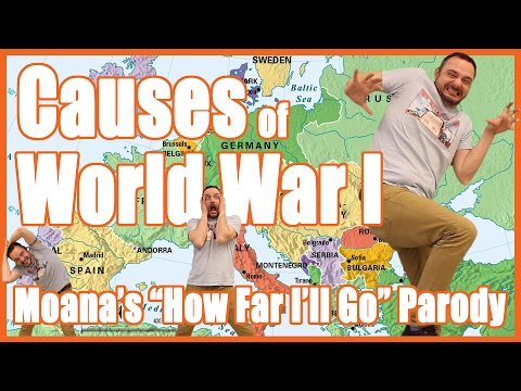 Causes of WWI (Moana's