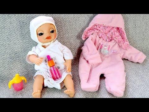 КАК МАМА Собирала Малышку в Больницу Мультики для детей Куклы Беби Бон Пупсики Игрушки