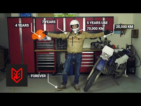 When to Replace Motorcycle Gear: Outdated, Dangerous and Dead