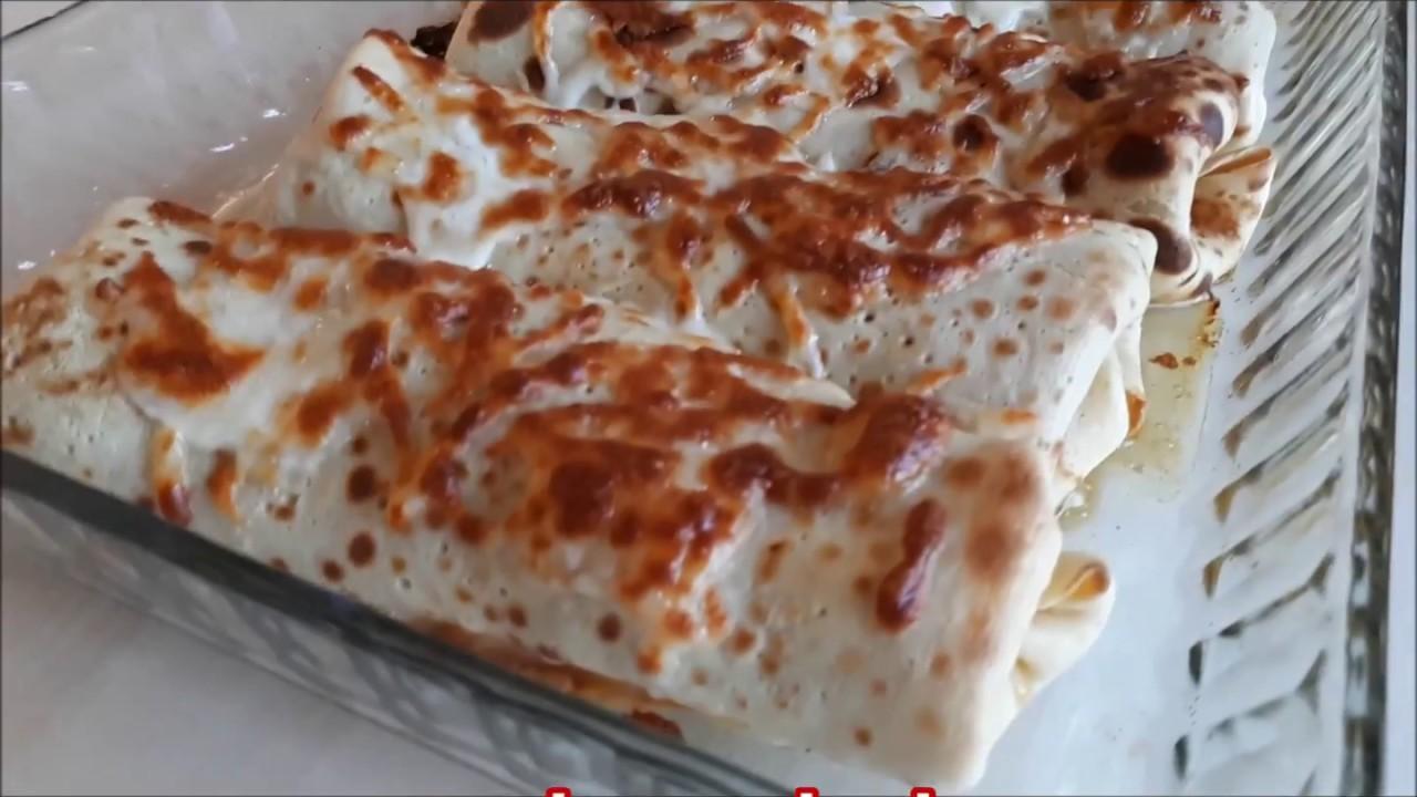 Kıymalı krep börek Tarifi