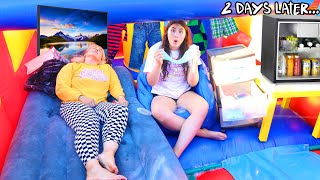 LIVING IN A BOUNCE HOUSE - Last to leave the bounce house!