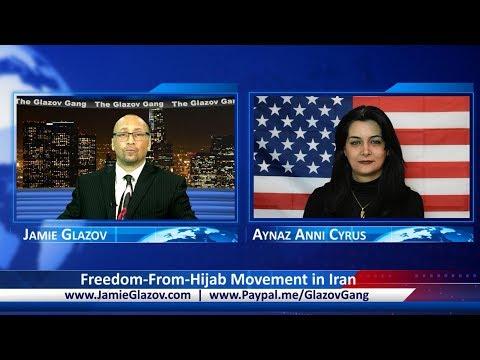 Glazov Gang: Freedom-From-Hijab Movement in Iran.