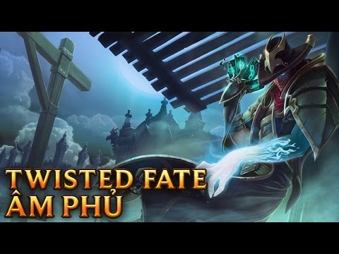 Twisted Fate Âm Phủ - Underworld Twisted Fate - Skins lol
