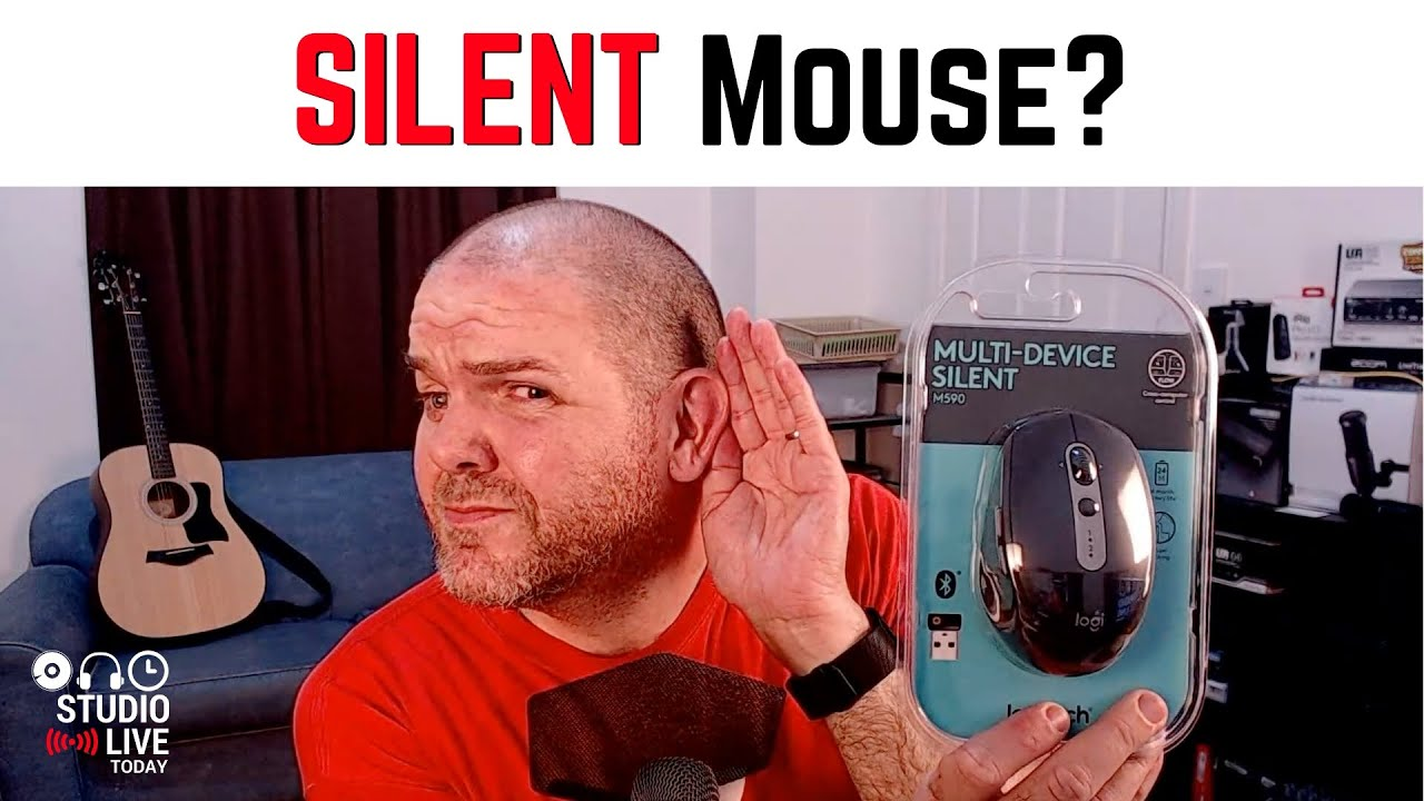Logitech M590 - A MOUSE that doesn't CLICK?