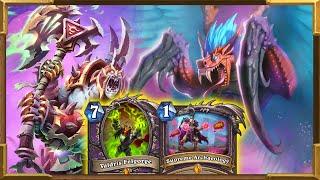 Hearthstone: New Quest Hakkar, Valdris, Rafaam Warlock | Always Full Of Surprises! Descent of Dragon