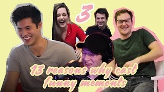 13 Reasons Why Cast funny interview moments 3!