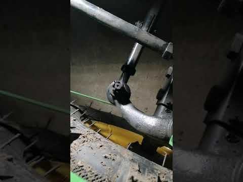 Регулировка схождения колёс на минитракторе
