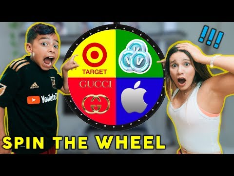 Spin The MYSTERY WHEEL And BUYING Whatever It Lands On Challenge!   The Royalty Family