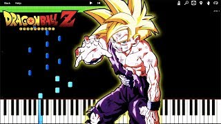 [FULL] GOHAN ANGERS (SSJ2) - Dragon Ball Z OST (Piano Tutorial) [Synthesia]