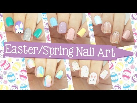 Easter & Spring Nail Art Ideas