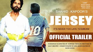 Jersey | Official Trailer | Shahid Kapoor | Mrunal Thakur | Nani | 2020 | Concept Trailer